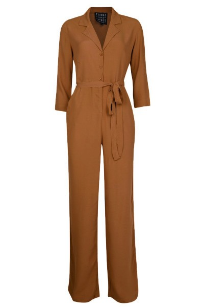 Carly Jumpsuit bruin