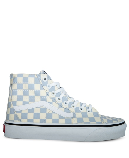 SK8-HI tapered checkerboard wit - 2
