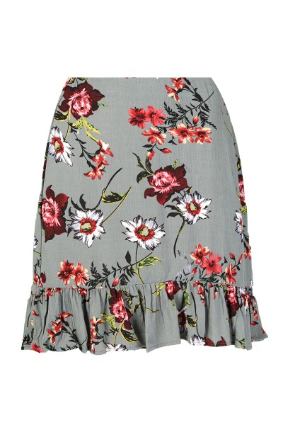 Skirt flower licht blauw