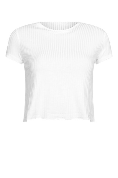 Cropped top wit
