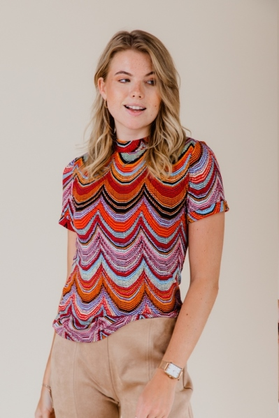 Top wave rood