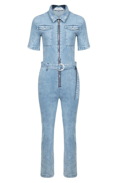 INVITO Jumpsuit & playsuit Blauw - LILOU