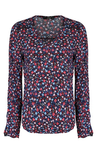 ONLY Blouse Blauw - 15171877