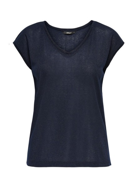 ONLY shirt / top Blauw - 15136069