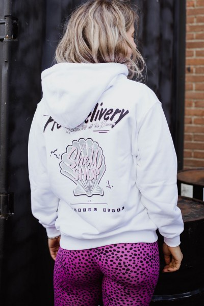 Free delivery oversized hoodie wit