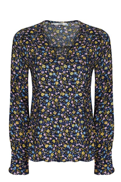 ONLY Blouse Donker blauw - 15171877