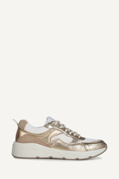 Shoecolate Lage sneaker Goud - 8.11.04.028