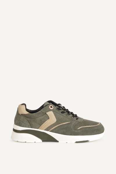 Shoecolate Lage sneaker Groen - 8.20.06.141