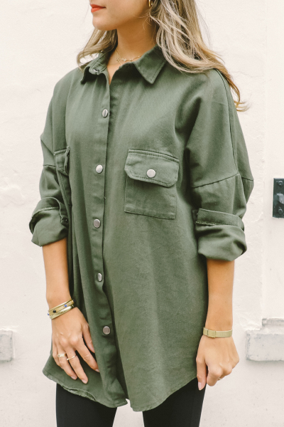 Things I Like Things I Love Blouse Groen - DORIS