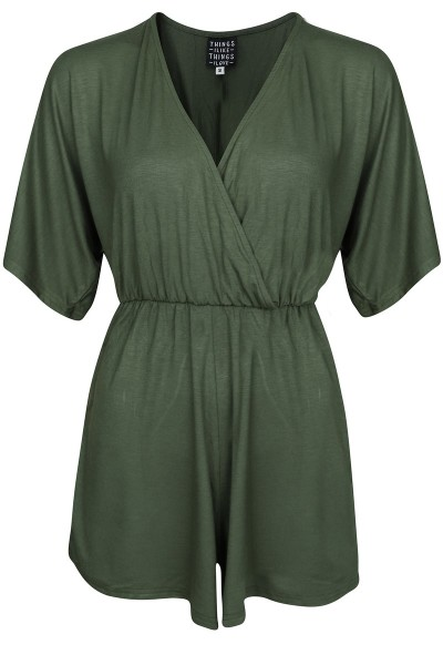 Things I Like Things I Love Jumpsuit & playsuit Groen - KIMONO