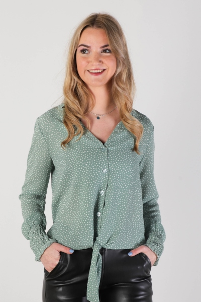 Typical Jill Blouse Groen - MONIQUE HEARTS