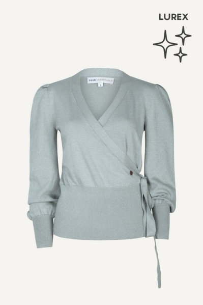 Your Essentials Trui Groen - SHAY AW21