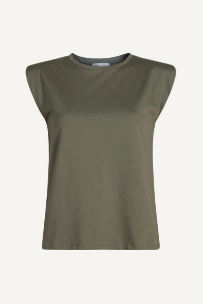 Your Essentials shirt / top Groen - SAYA