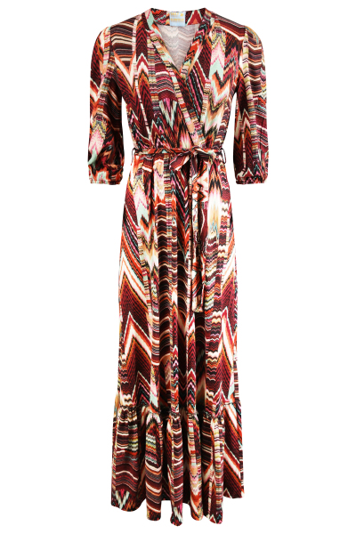 Daily Glamour Jurk Multicolor - 3031