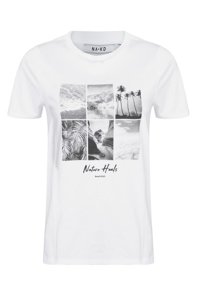 Breathe deeply t-shirt wit