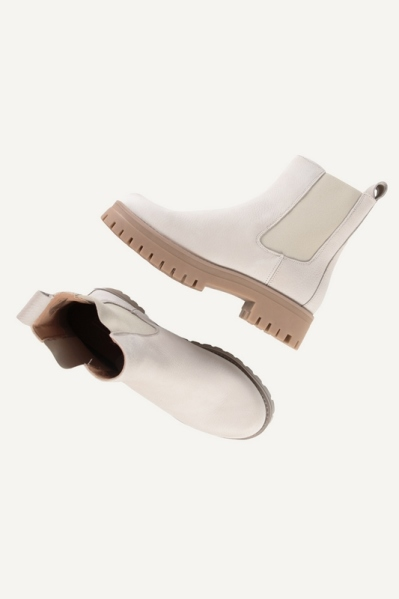 Shoecolate chelsea boots Offwhite - 8.21.10.184