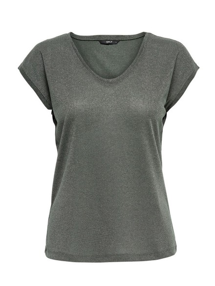 Lurex top groen