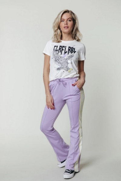 Colourful Rebel broek Paars - Bibi