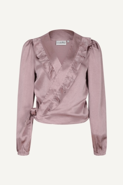Femme9 Blouse Paars - BODIENAW21