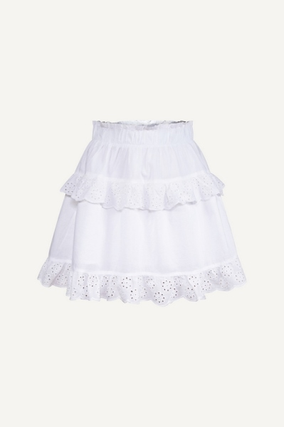 PCLOUDRES MW SKIRT BC wit - 2
