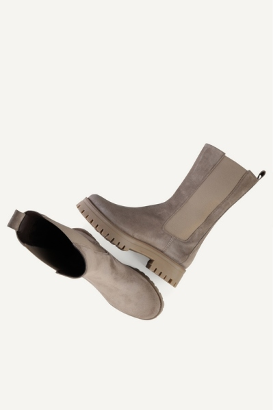 Shoecolate chelsea boots Taupe - 8.20.08.277.0