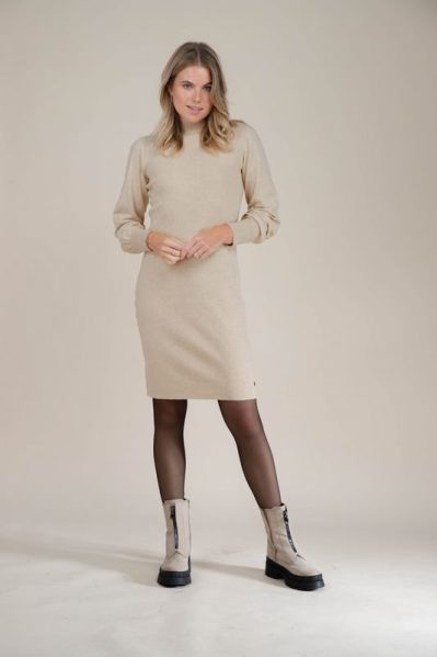 Your Essentials Jurk Taupe - ABBEY
