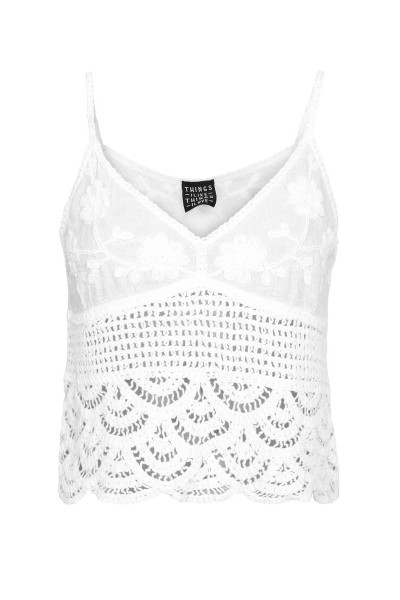 Knitted top wit