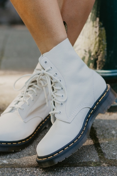 Dr.Martens Veterboot Wit - 1460 PASCAL OPTICAL