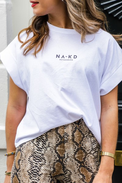 Na-kd shirt / top Wit - 1018-002392
