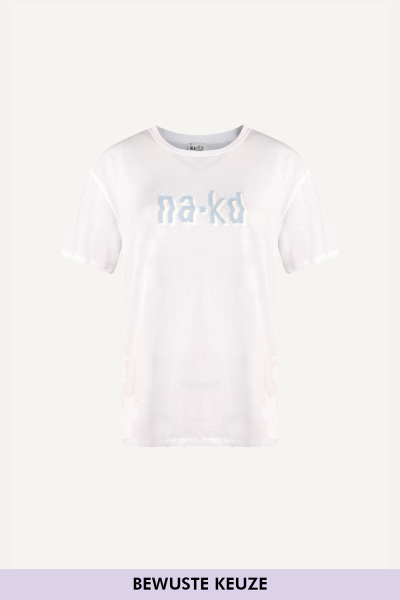 Na-kd shirt / top Wit - 1660-000226