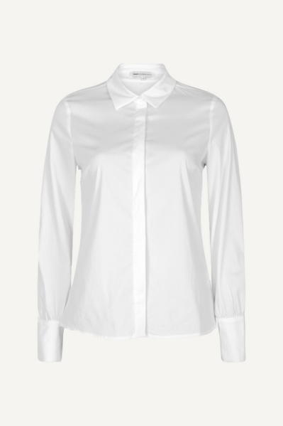 Your Essentials Blouse Wit - ESMAY