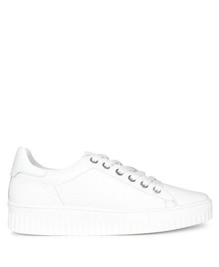 Sneaker all white wit