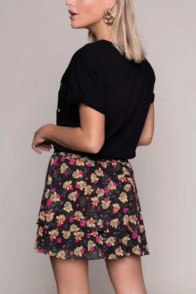 Colourful Rebel rok Zwart - 9233
