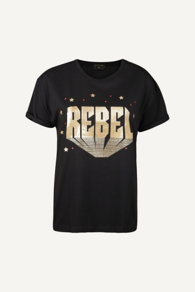 Colourful Rebel shirt / top Zwart - 9272