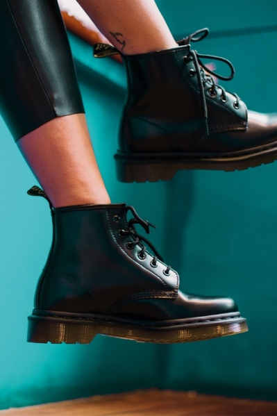 Dr.Martens Veterboot Zwart - 101 BLACK SMOOTH