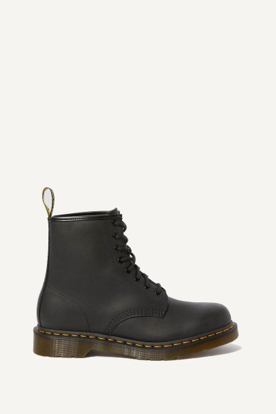 Dr.Martens Veterboot Zwart - Greasy