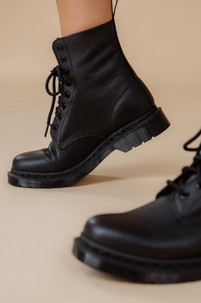 Dr.Martens Veterboot Zwart - 1460 PASCAL VIRGINIA
