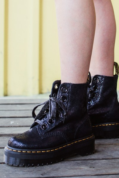 Dr.Martens Veterboot Zwart - MOLLY BLACK