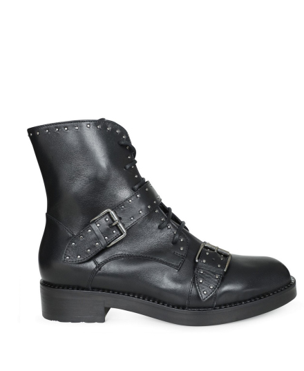 Invito Veterboot Zwart - W0442A