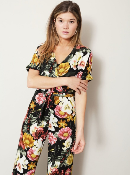 Things I Like Things I Love Jumpsuit & playsuit Zwart - LUCY
