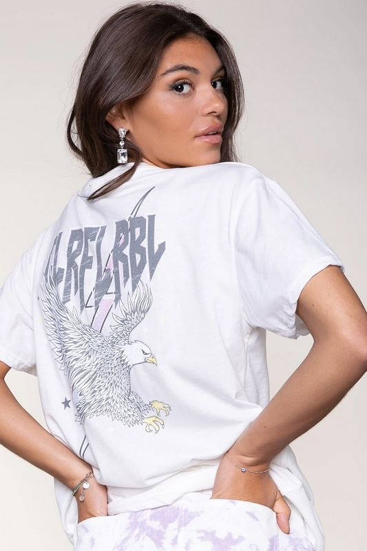 Colourful Rebel shirt / top Wit Clrfl Rbl-1