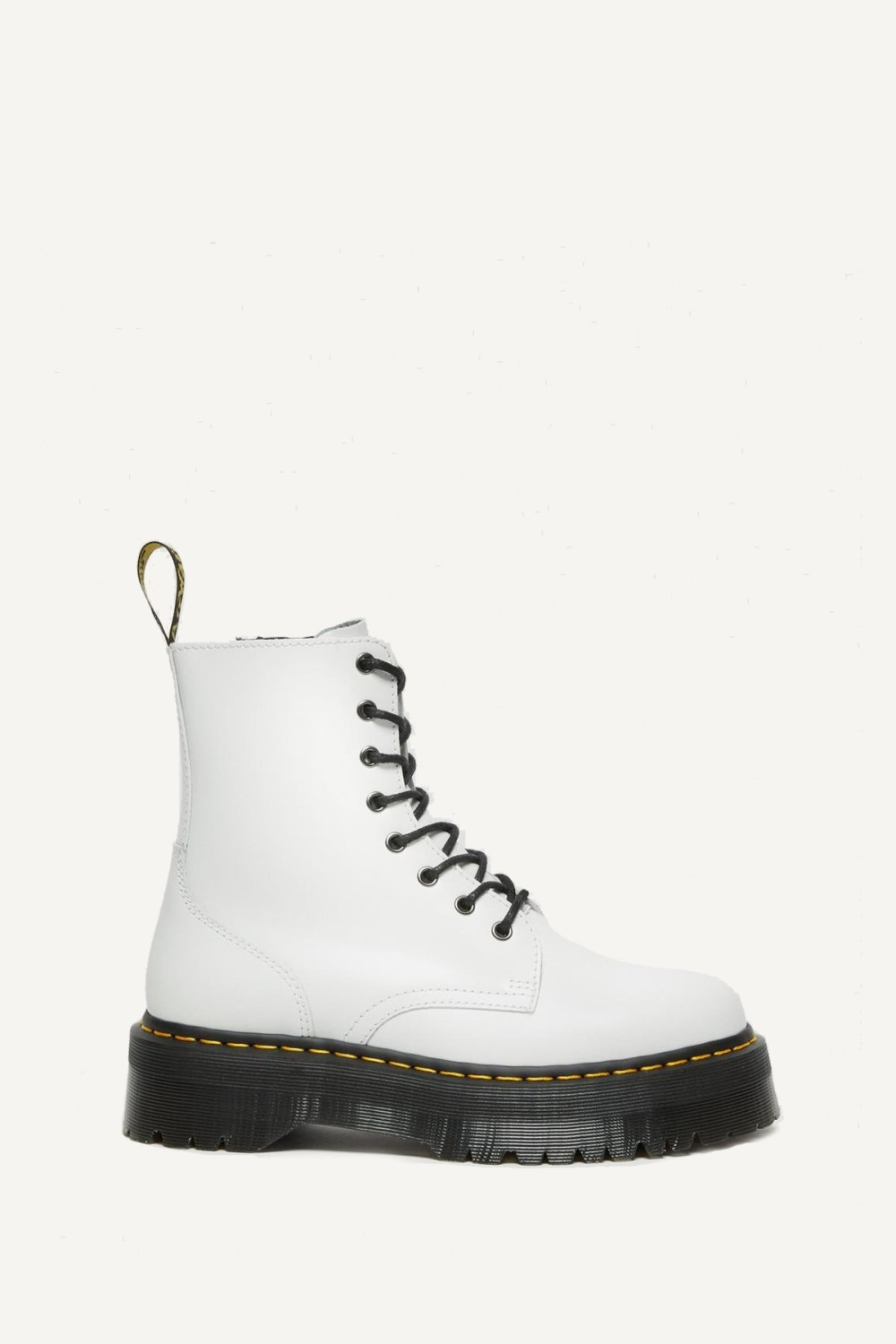 Dr.Martens Veterboot Wit JADON POLISHED