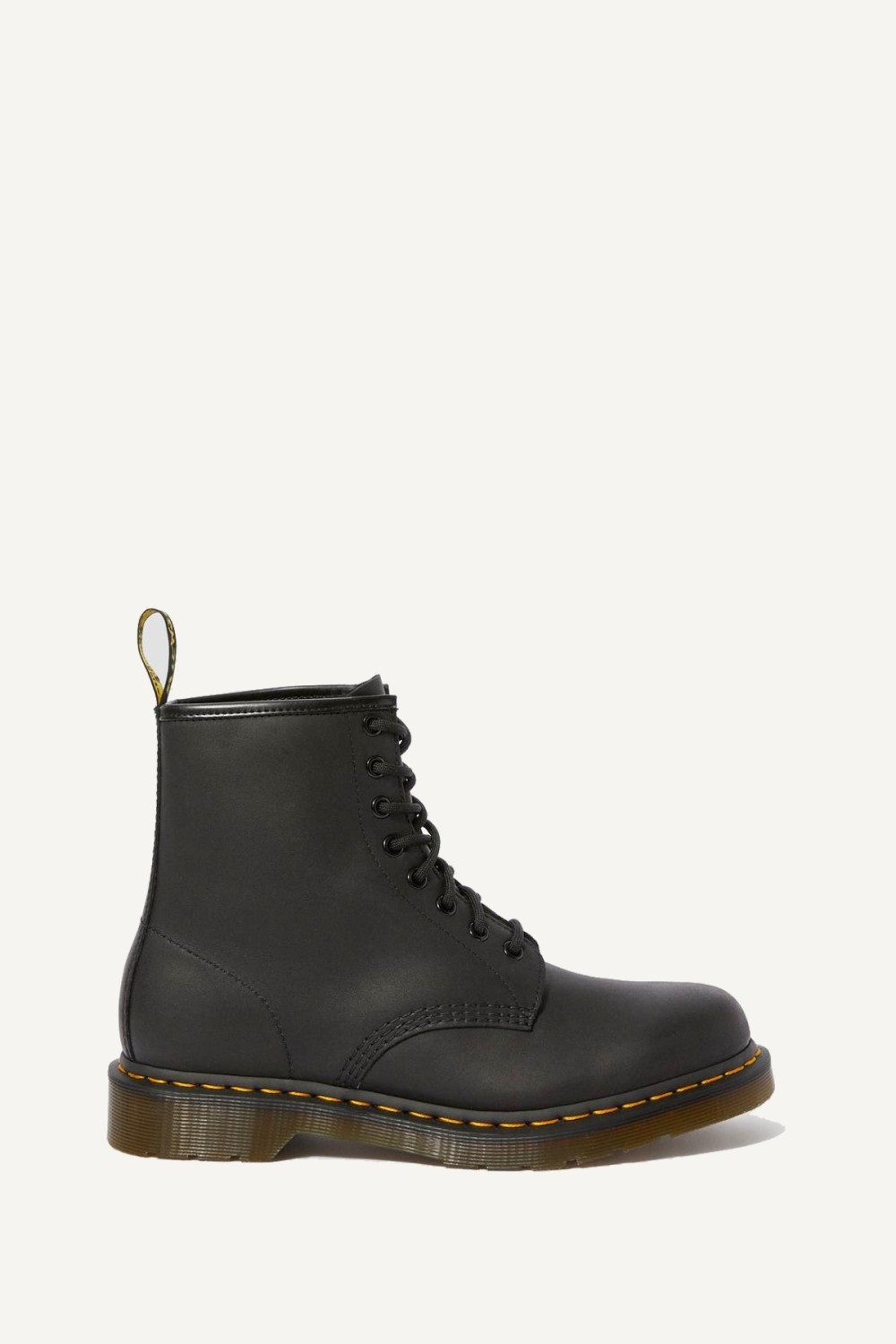 Dr.Martens Veterboot Zwart Greasy