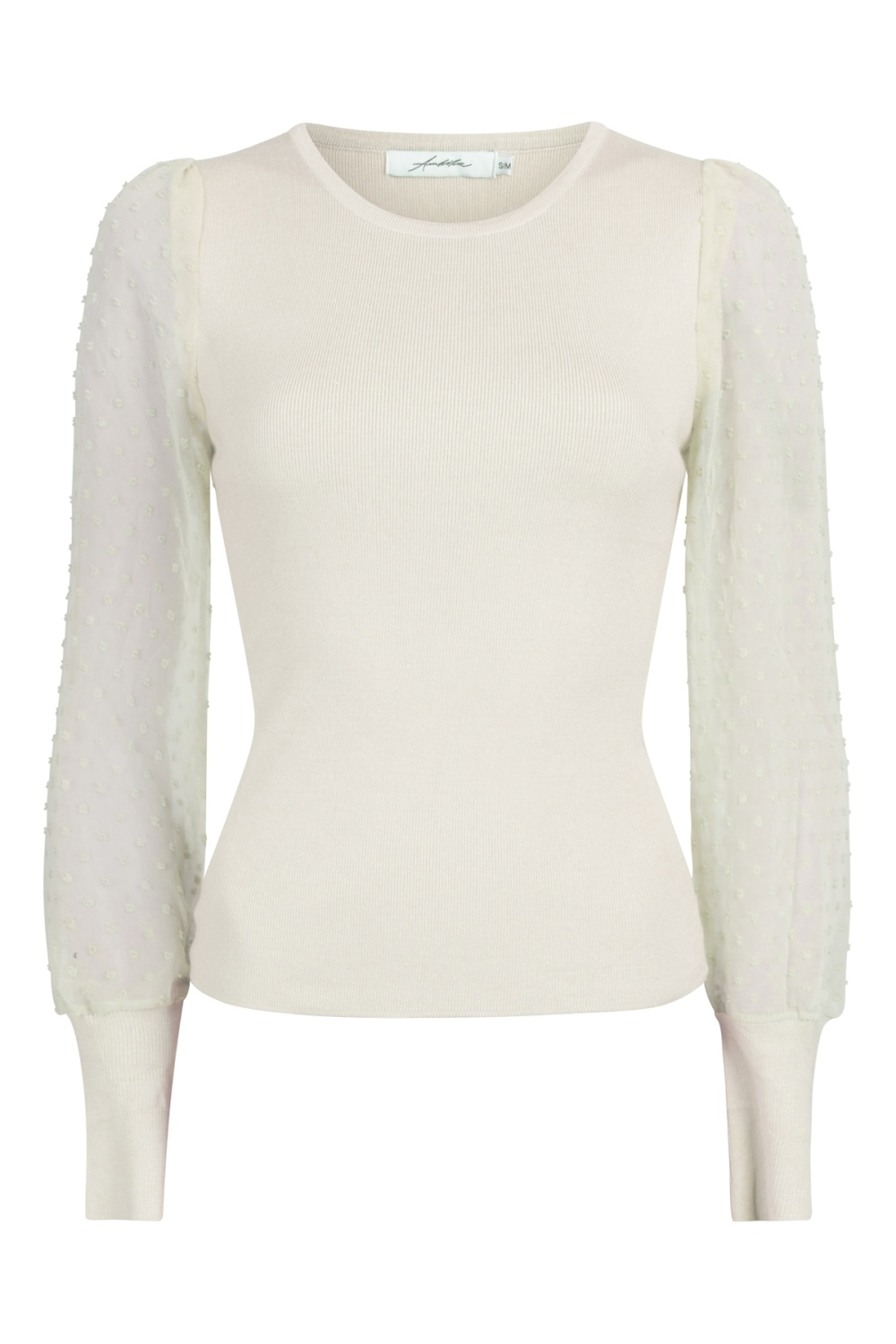 INVITO Blouse Beige M12292-1