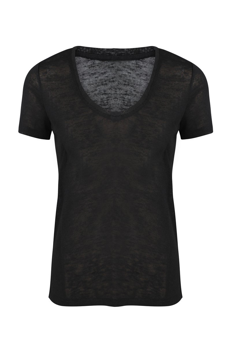 INVITO shirt / top Zwart EMMA