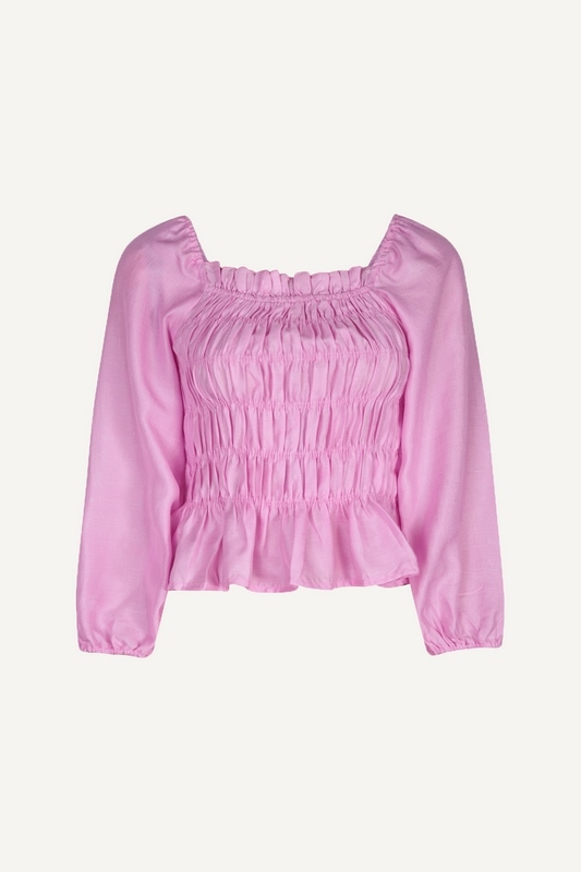 Pieces Blouse Paars 17117583