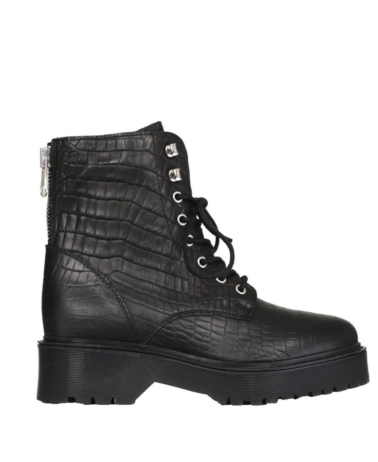 PS Poelman Veterboot Zwart 5648
