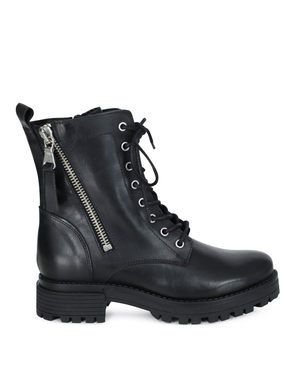 PS Poelman Veterboot Zwart R13395-BM733POE