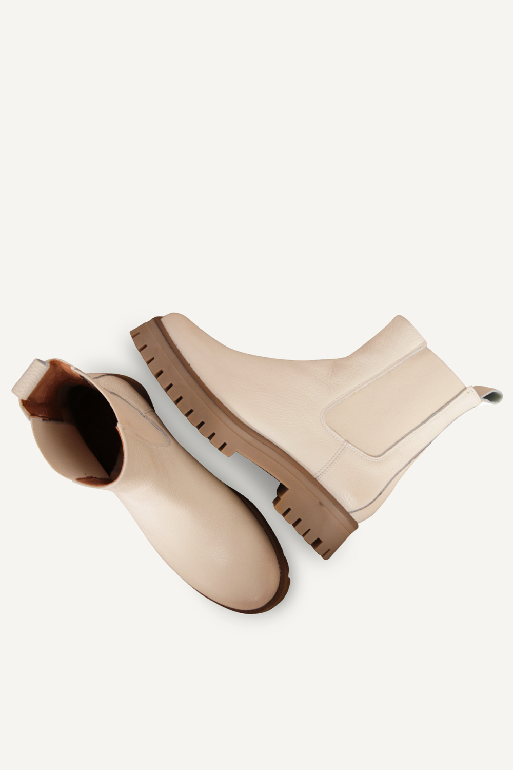 Shoecolate chelsea boots Offwhite 8.20.08.284.01