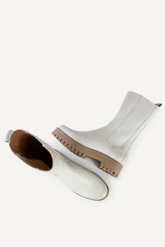 Shoecolate chelsea boots Offwhite 8.20.08.285
